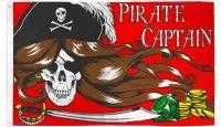 Woman Pirate Captain Flag!