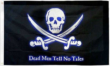Dead Men Tell No Tales Pirate Flag