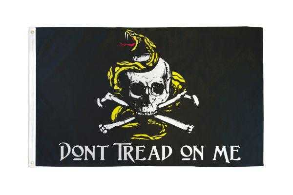 Don't Tread On Me Pirate Flag
