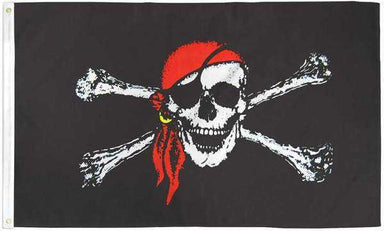 Jolly Rodger Pirate Flag Polyester | Flag Store
