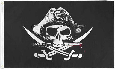 Deadman's Chest Pirate Flag Polyester | Flag Store