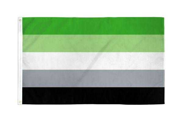 Aromantic Pride Flag
