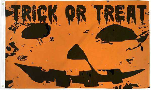Trick or Treat Flag