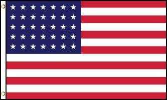 USA 35 Star Spangled Banner Flag