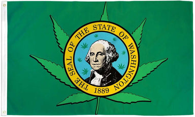 Washington Leaf Flag