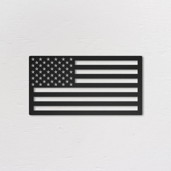 USA Flag - Metal Wall Art