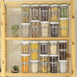 Adjustable Food Storage Container