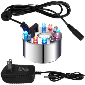 12-LED Ultrasonic Mist Maker