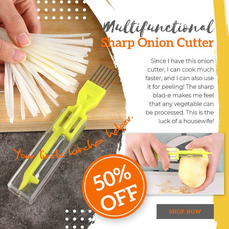 Multifunctional Sharp Onion Cutter