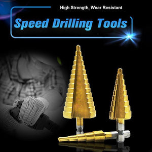 Speed Drilling Tools (3 Pcs)
