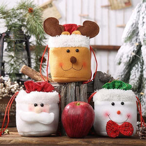 Christmas Decorations Candy Bag(3pcs)