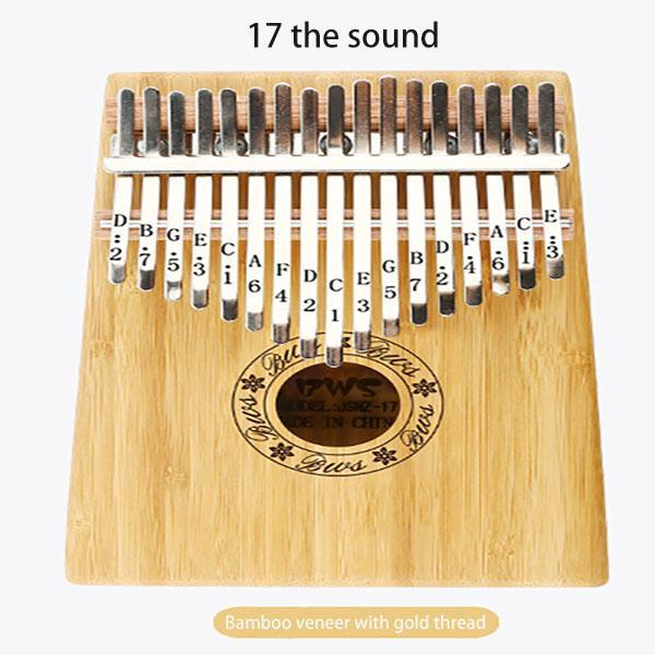 17 the sound Kalimba