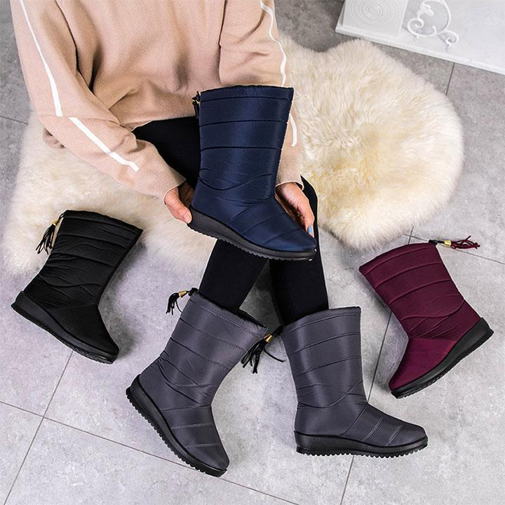Warme Frauen Winterstiefel