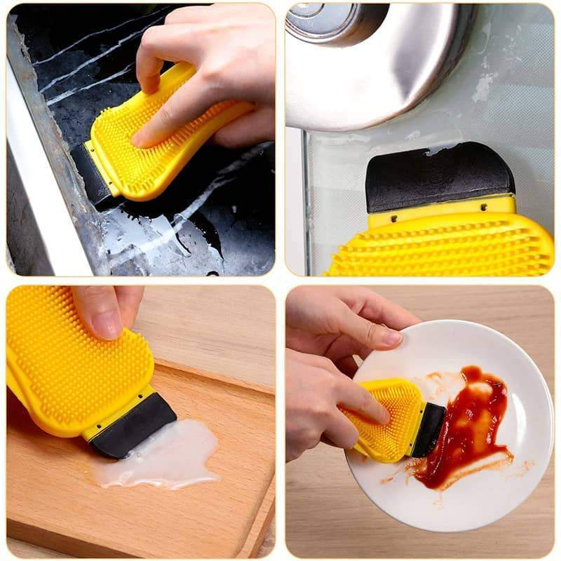 3 in 1 Silicone Cleaning Brush