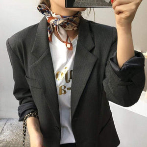 Multifunctional Fashion Silky Square Scarf