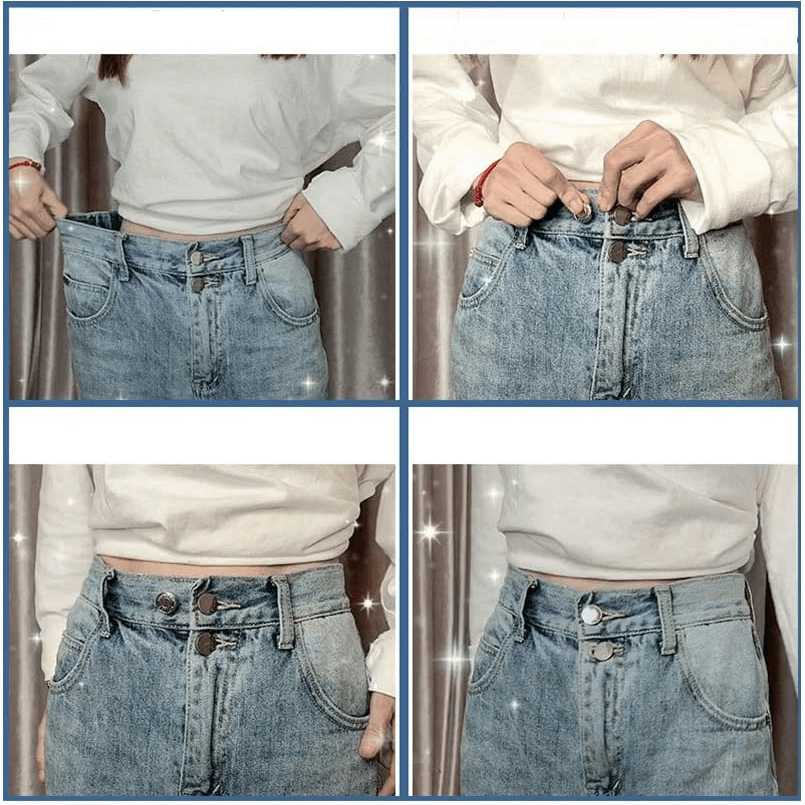 Perfect Fit Your Size Adjustable Waist Buckle (5 PCS)