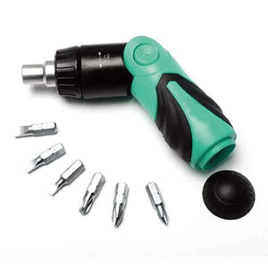 6 In 1 Ratchet Folding Multi-Function Screwdriver