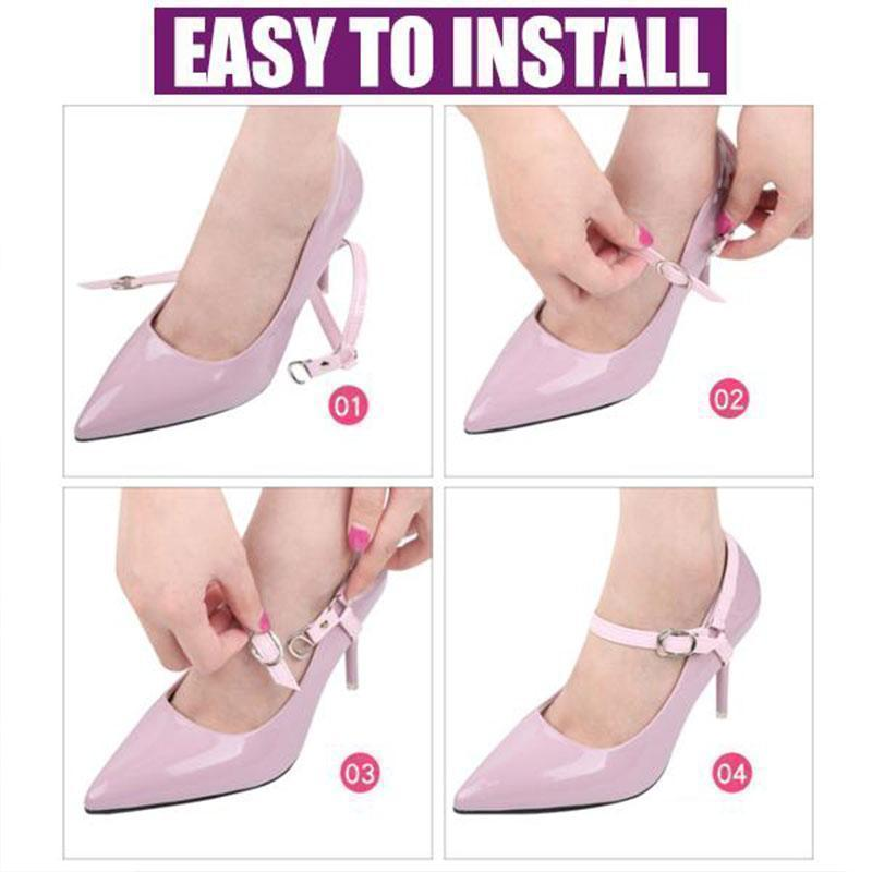 High-heels Shoelaces Buckle Bandage