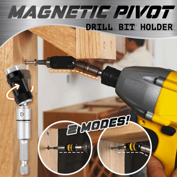 Magnetic Pivot Drill Bit Holder