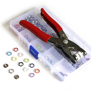 9.5MM Metal Snaps Buttons Pliers Set