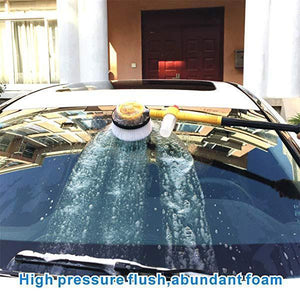 Auto Rotating Retractable Car Wash Brush