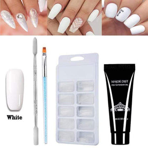 Nail Extension Gel Art Silk Set