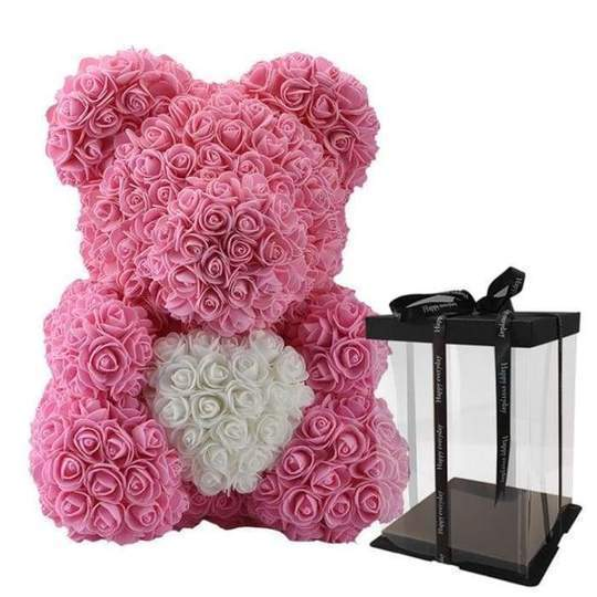 LOVE HEART ROSE BEAR LIMITED EDITION