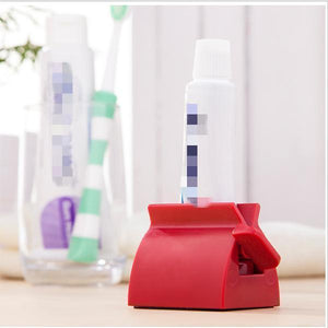 Manual Toothpaste Squeezer - Rolling Tube Toothpaste Dispenser