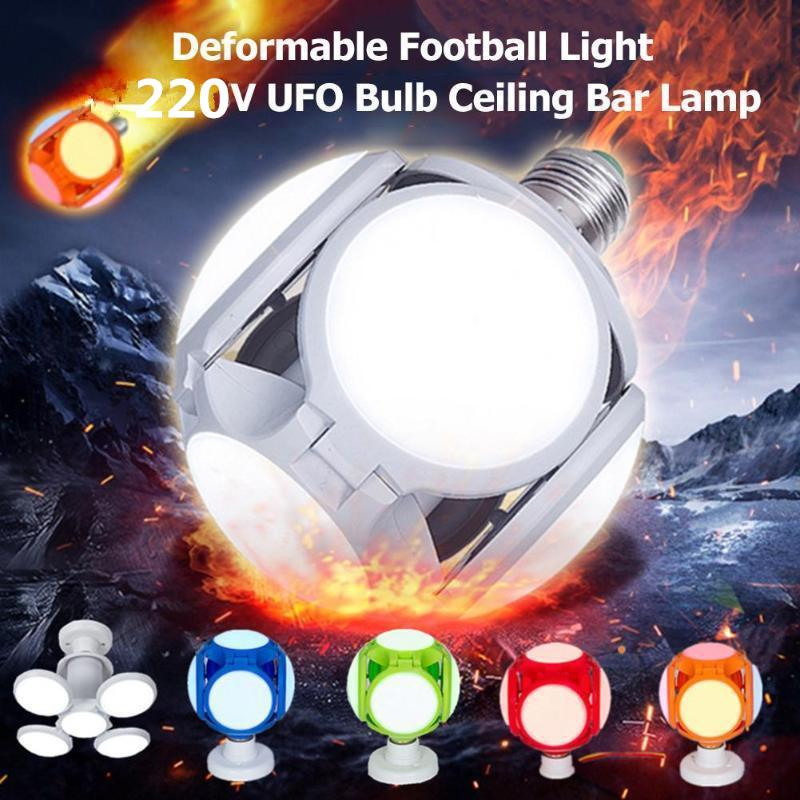 Collapsible Deformation Football Bulb