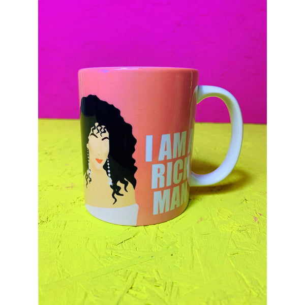 Cher Rich Man Mug