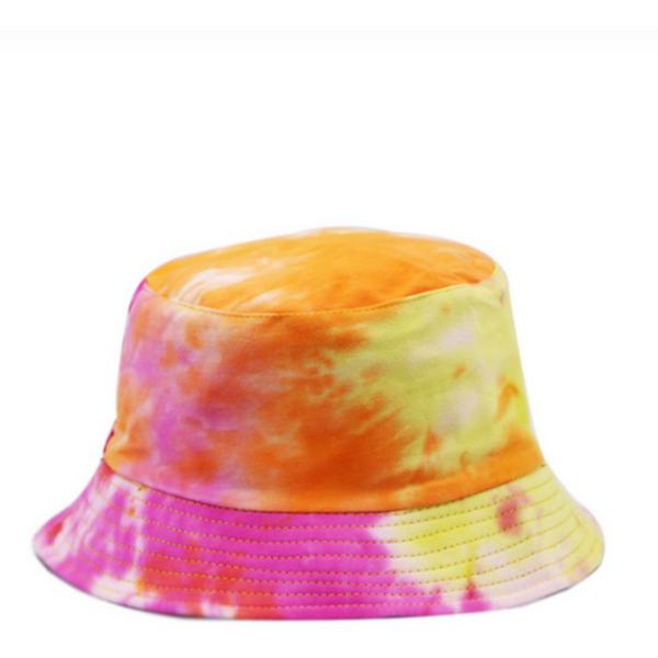 Pink Orange Yellow Summer Bucket Hat