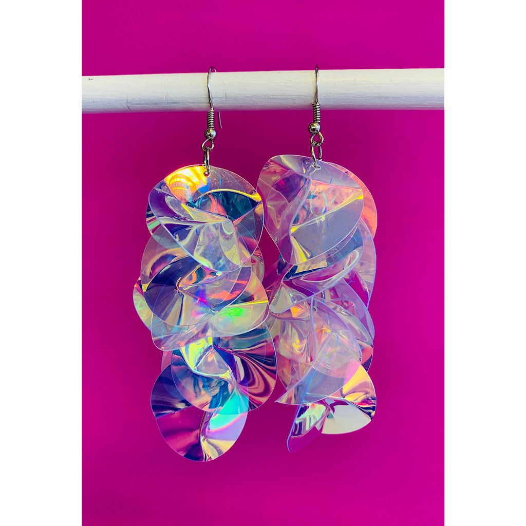 Prismatic Sequin Earrings