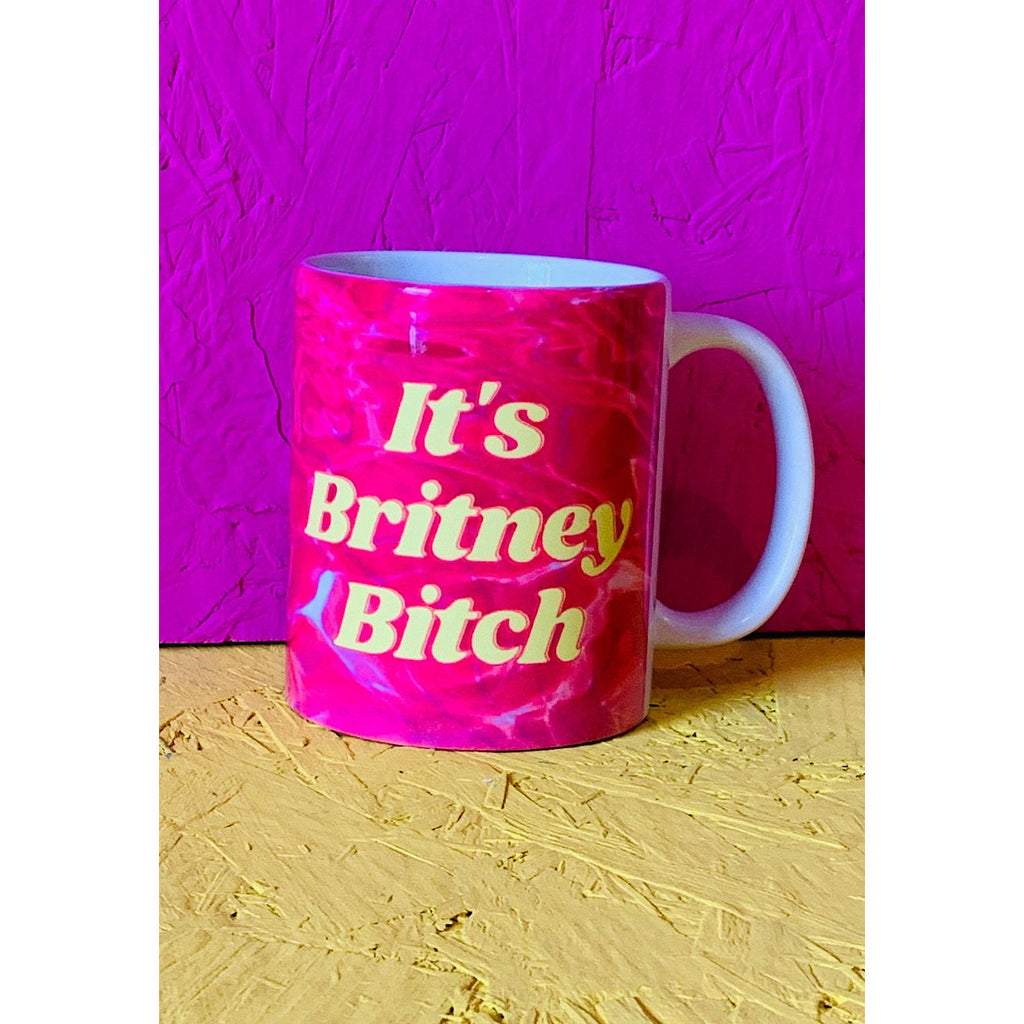 its britney bitch slogan mug
