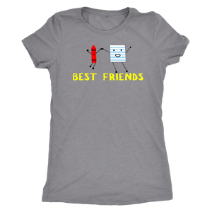 Crayon and paper Womens Best friends