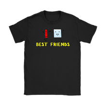 Load image into Gallery viewer, Crayon and paper Womens Best friends