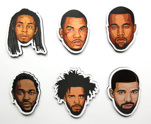 Rap/Hip-Hop Fridge Magnet Bundle 03