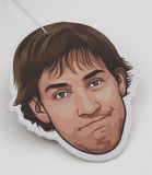 Jim Halpert Air Freshener (Scent: Watermelon)