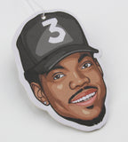 Chance the Rapper Air Freshener (Scent: Strawberry)