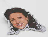Elaine Benes Air Freshener (Scent: Strawberry)