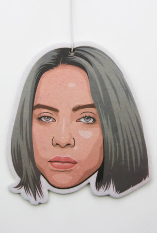 Billie Eilish Air Freshener (Scent: Apple)