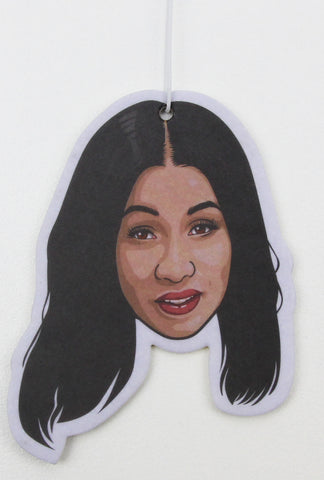 Cardi B Air Freshener (Scent: Cologne)
