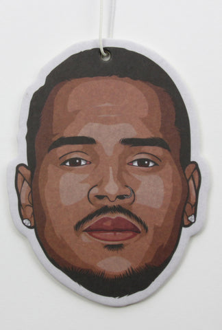 Chris Brown Air Freshener (Scent: Grape)