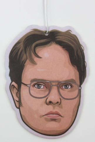 Dwight Schrute Air Freshener (Scent: Black Ice)