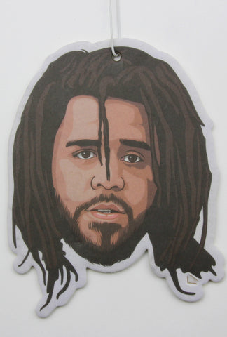 J. Cole (Version 2) Air Freshener (Scent: Black Ice)