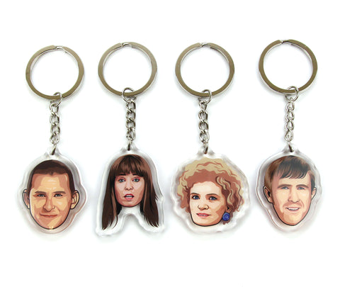 K&K Keychain Set of 4