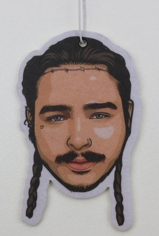 Post Malone Air Freshener (Scent: Apple)
