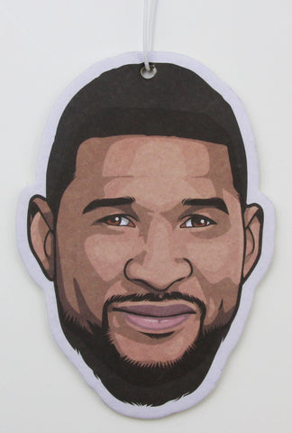 Usher (with beard) Air Freshener (Scent: Black Ice)