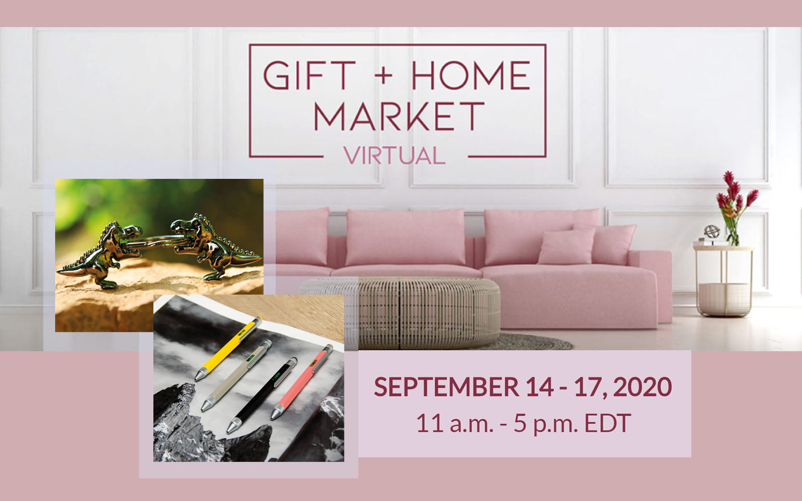 FIND US AT THE VIRTUAL TORONTO GIFT + HOME MARKET!