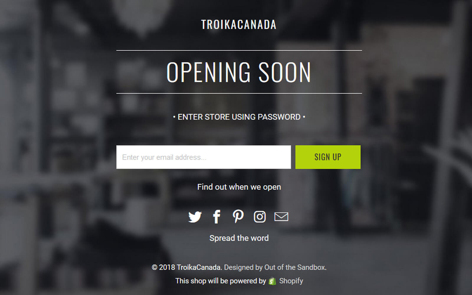 ATTENTION - TROIKA PRODUCT LAUNCHE IS COMING UP SOON!