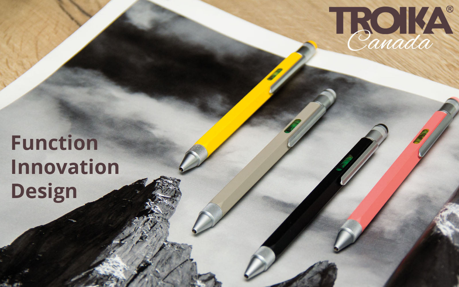 TROIKA CANADA - FUNCTION // INNOVATION // DESIGN